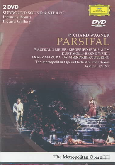 WAGNER:PARSIFAL BY LEVINE,JAMES (DVD)